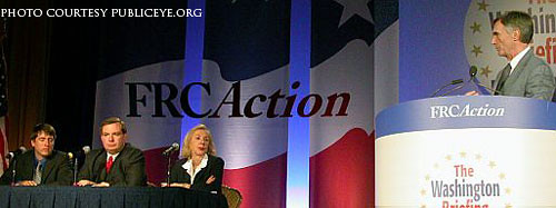 A speakers' panel at the 2007 Values Voter Summit | by pfaw