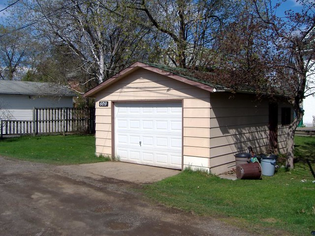 garage this is the garage at my old house it 39 s off of a