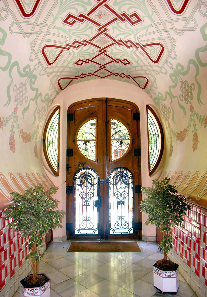 Barcelona enric granados 106 23 casa sala 1906 - Art deco barcelona ...