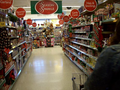 Merry Christmas, Walgreens | Christmas aisle in the Meadowbr… | Flickr