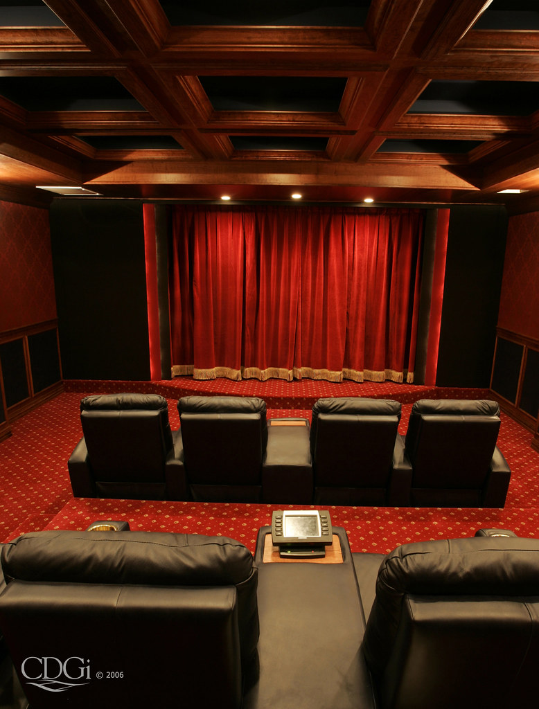 Traditional Theater Design Home Theater Interior Design Co Flickr - Home theater design group