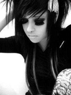 Emo Black N White Too Toxic Emo Girl Flickr