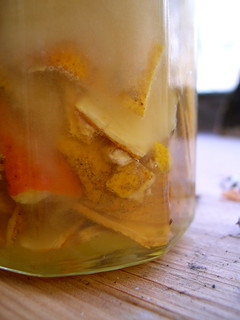 citrus peel honey | by we'moon in the woods