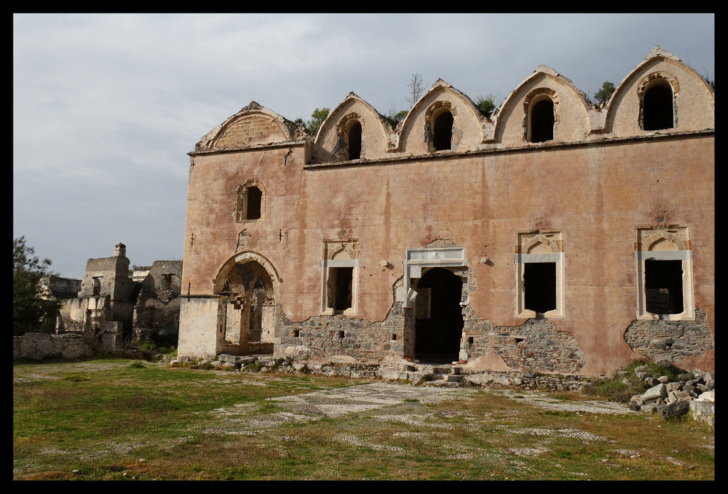 Kayaköy Ghost Town Church  Kayaköy (Greek: Levissi) is a ...