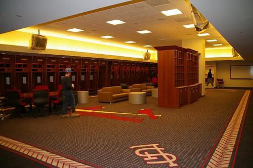 St Louis Cardinals Locker Room