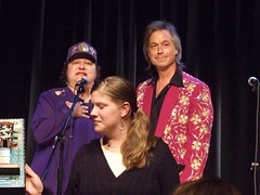 Jim Lauderdale with Porter Wagoner's daughter & grandaughter | by Karen Miller Photography
