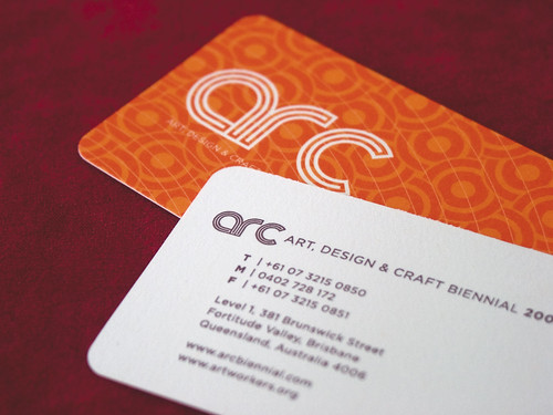 Arc Biennial Business Card | by Mr. One-Hundred