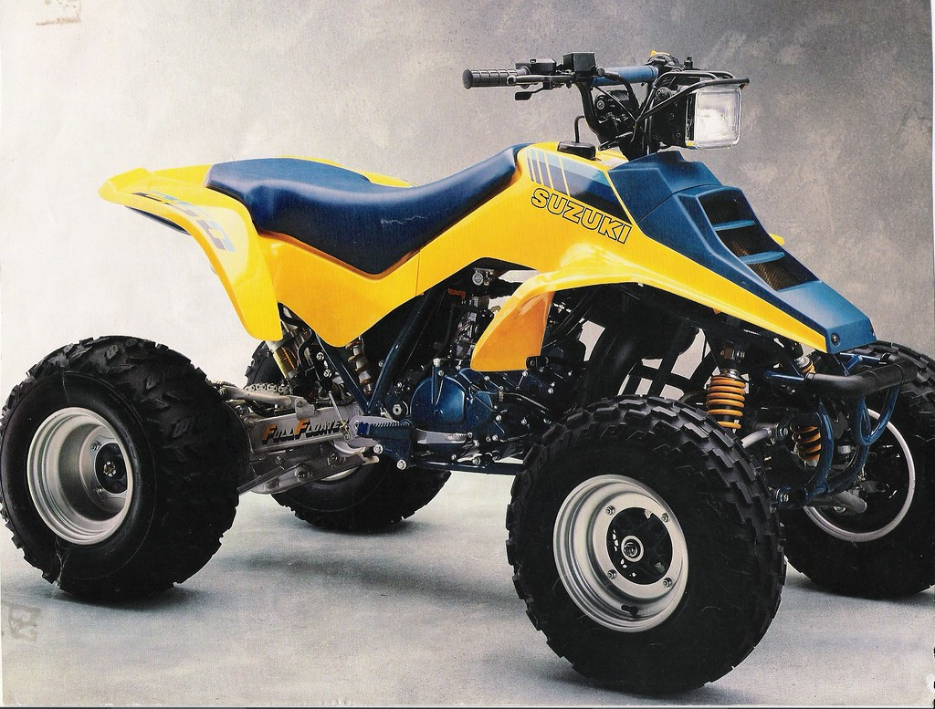 Honda Recon For Sale >> 87 Quadracer 250 | Scan from a 1987 sales brochure for the 8… | Flickr