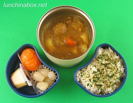Japanese curry rice bento lunch for preschooler | by Biggie*