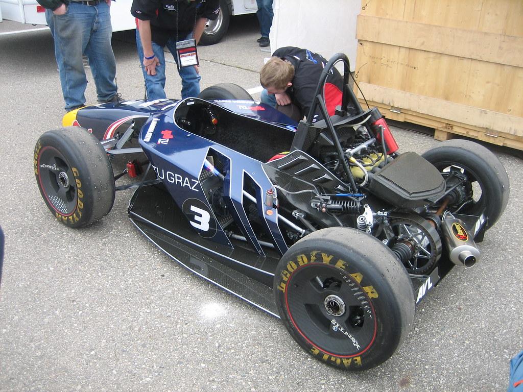New Car Designs >> Formula SAE - EAST (Day 2) TU Graz - 081   TU Graz's sweet a…   Flickr