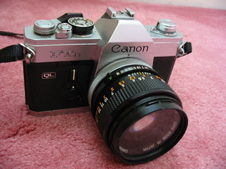 Canon FTb | My father's Canon FTb from the 1970s.