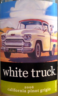 Red Truck Winery 2006 White Truck Pinot Grigio (front) | by 2 Guys Uncorked