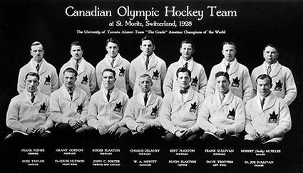 Canada 1928 Olympic team 1