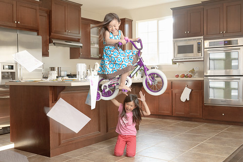 Mom always said never to ride bikes in the house | by jwlphotography