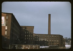 Factory buildings in Lowell, Mass.  (LOC) | by The Library of Congress