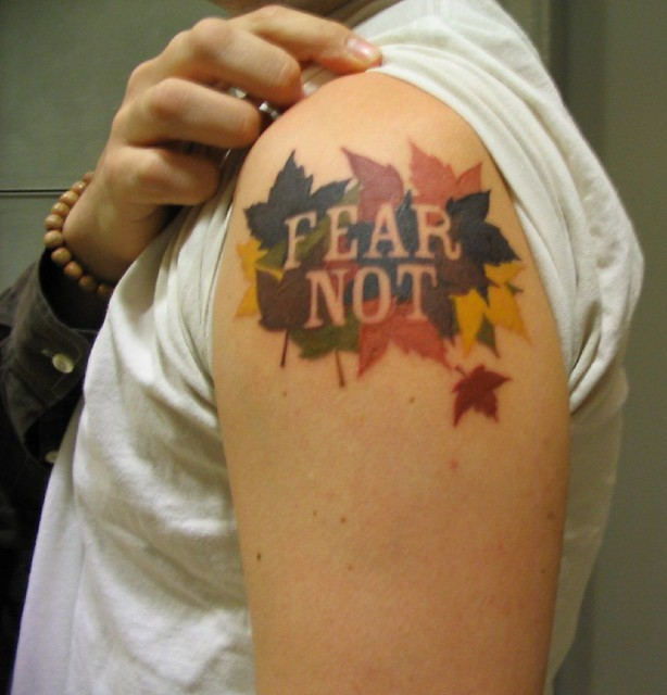 fear not tattoo day 3 design by jeremy broomfield