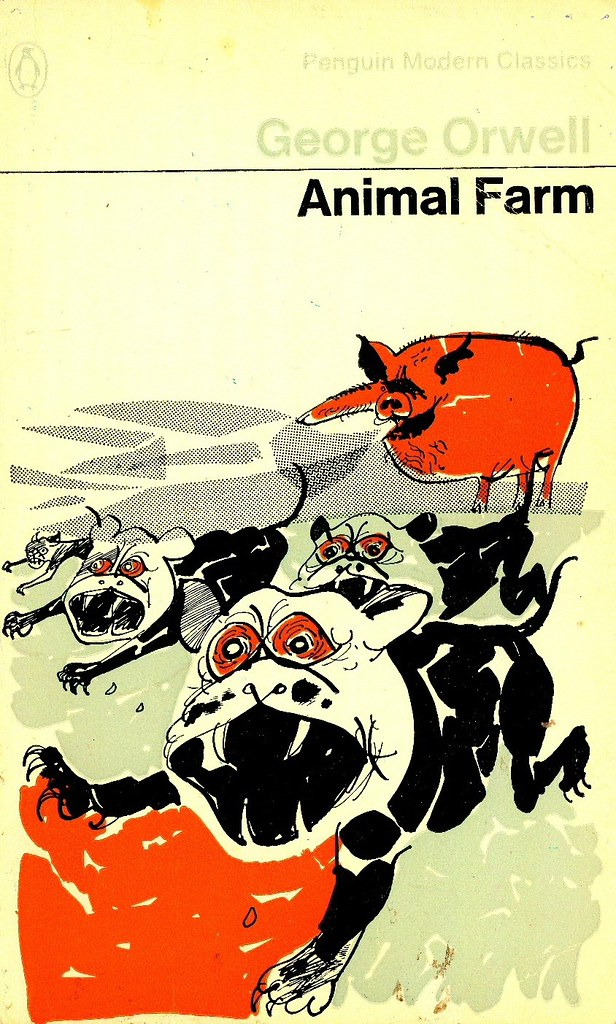 the ability and tendency of power to corrupt using examples from the novel animal farm by george orw Animal farm by george orwell home / well, obviously check out how orwell's narrator uses the pig's language—natural and superior—but gets in his own dig with actually work in glowing sentences he painted a picture of animal farm as it might be when sordid labour was lifted from the.