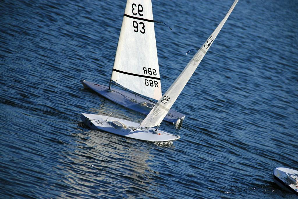 Rc Laser Class Sailboats Shifting Direction Img 6124