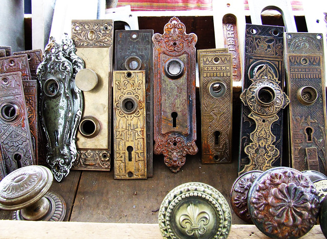 ... Antique Door Plates | by Please Sir - Antique Door Plates Diana Flickr