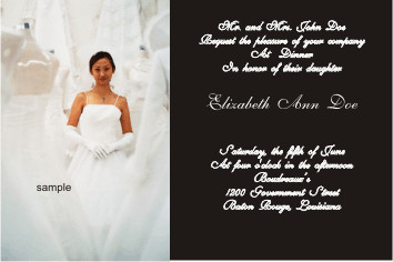 Debutante Invitation from An Event 2 Print This Debutante Flickr