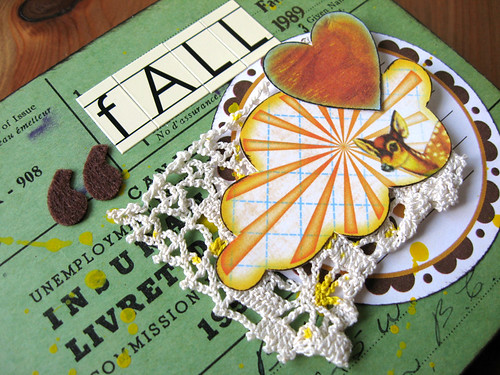 Altered Receipt Book w/ Shabby Chic Crafts' tags | by Michelle Alynn