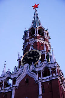 The Spasskaya Tower in Moscow | by marantzer