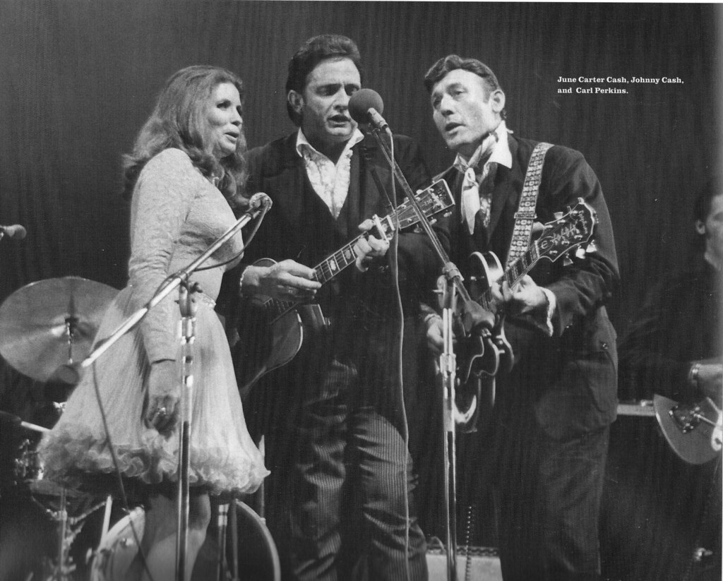 June carter cash johnny cash and carl perkins terr bo for Pictures of johnny cash and june carter