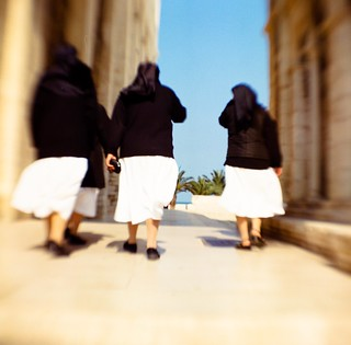 Nuns in Trani, Italy | by just_jeanette