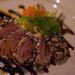 Seared Albacore Tuna with Sesame Seed Glaze | Tuna Tataki