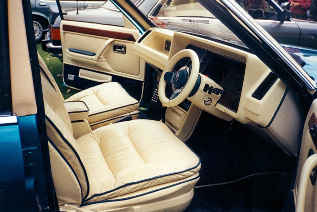 ford granada mk2 ghia x leather interior a nice interior r flickr. Black Bedroom Furniture Sets. Home Design Ideas