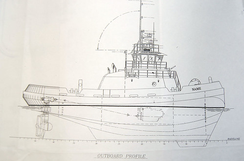 Tugboat Marshall Foss Blueprint | by Telstar Logistics