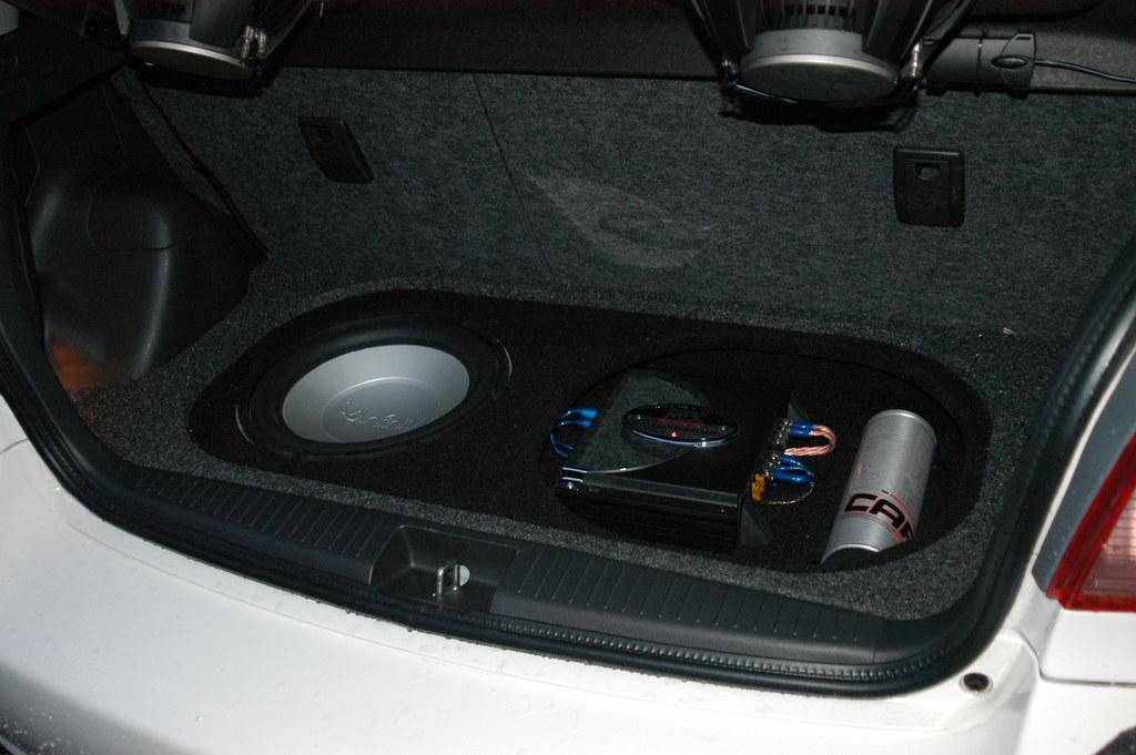 Vitz Subwoofer Enclosure Custom Fiberglass Sub Box