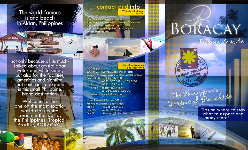 Travel Brochure Philippines Image Gallery  Hcpr