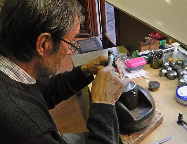 Jewelry Maker in Toledo, Spain