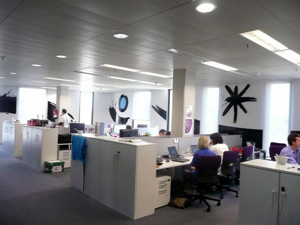 Yahoo office barcelona christian heilmann flickr for Office design jargon