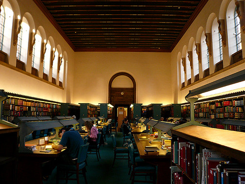 Cambridge University Library Reading Room