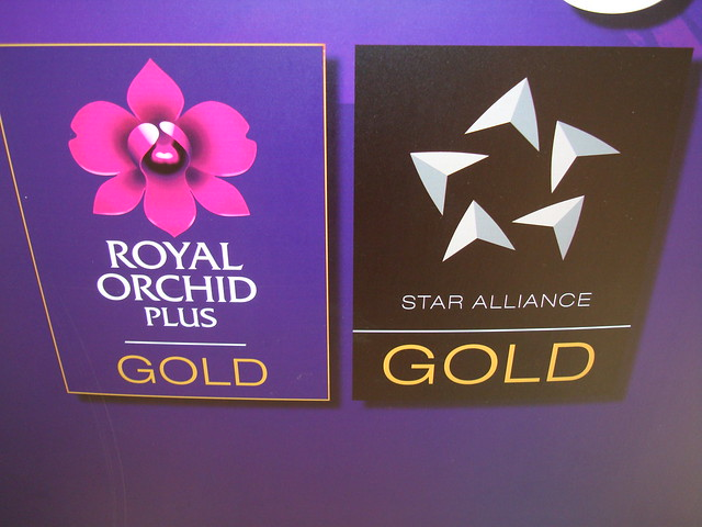 Royal Orchid Plus & Star Alliance GOLD..