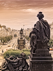 Wenceslas Square Prague | by Howerdal
