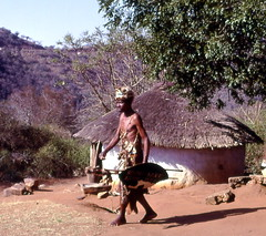 Reconstructed traditional Zulu village, South Africa | by gbaku