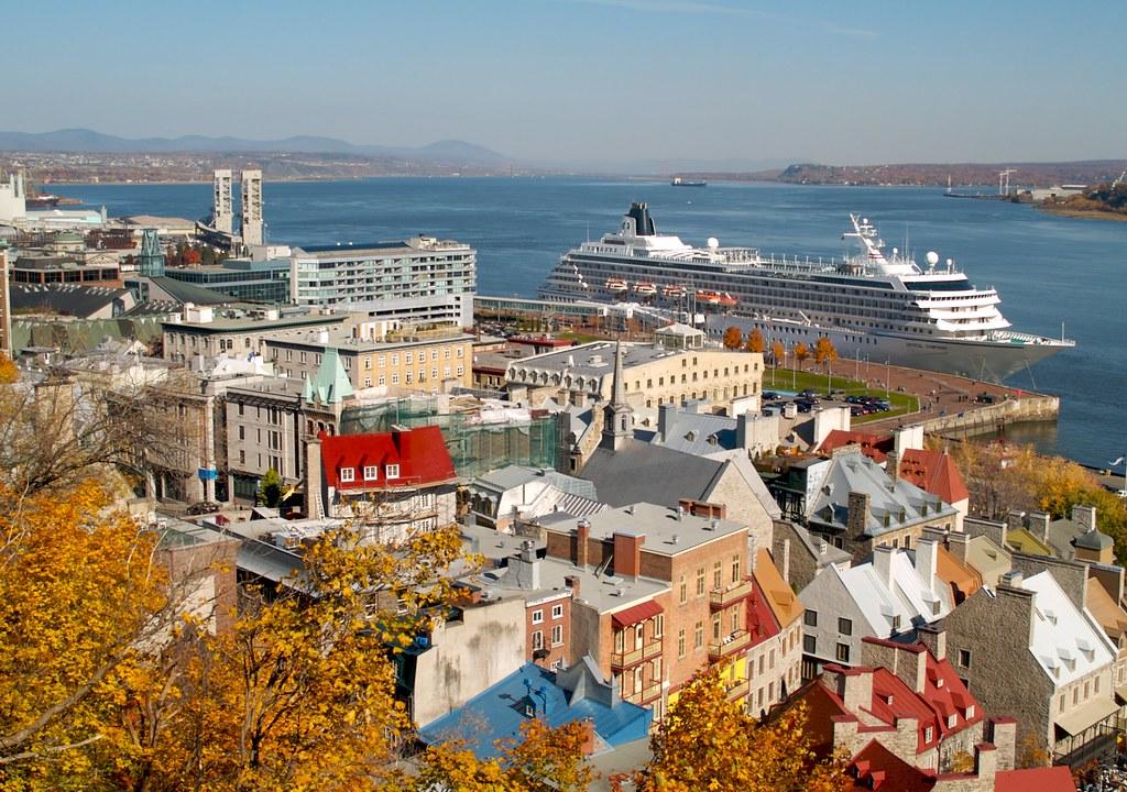 Cruise Ship Quebec City Sandra Cohen Rose And Colin