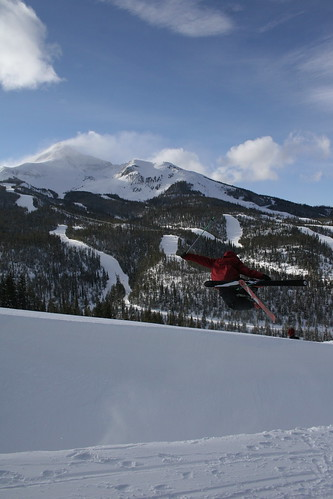 Issac flies out of the pipe | by bigsky.resort