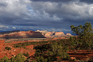 Capitol Reef Stormy Sunset, May 2011 | by Bob Palin
