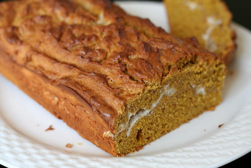 Pumpkin cheese swirl bread | by Danube66