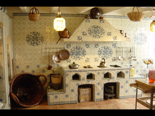 Talavera cocina puebla livit immersion center flickr for Decoracion de cocinas rusticas mexicanas