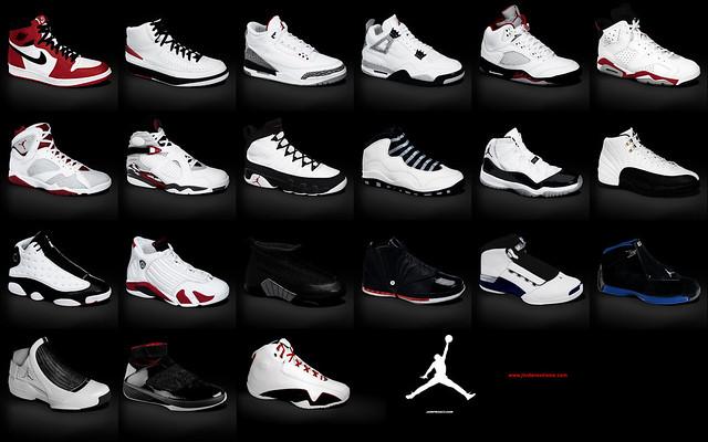 Jordan Shoe Names