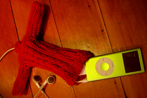 iPod Sweater From Brigids knitting collection... The ...