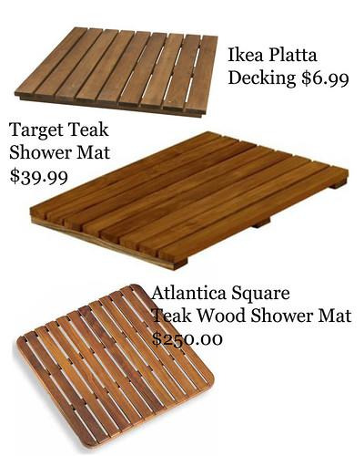 wooden bath mat options copy | Blogazar | Flickr