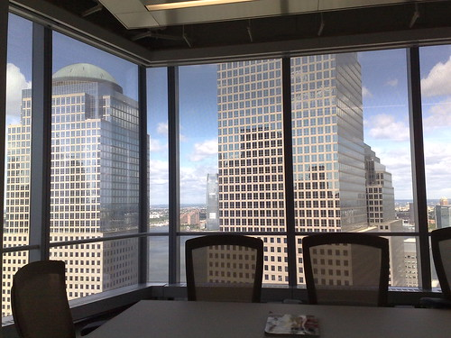 View from Fast Company's office in World Trade Center | by Robert Scoble