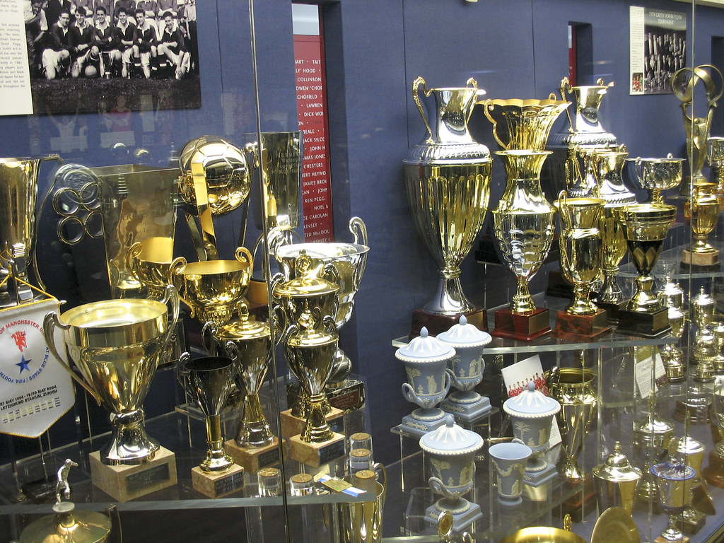 Manchester United Trophy Cabinet