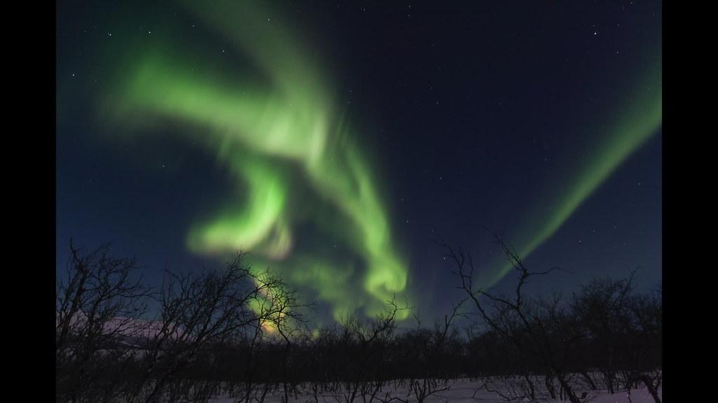 Aurora Borealis - Abisko, Sweden